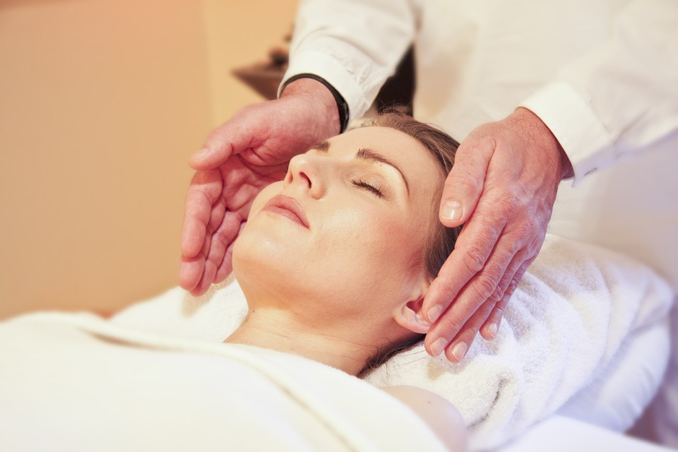 Facial with Head Massage